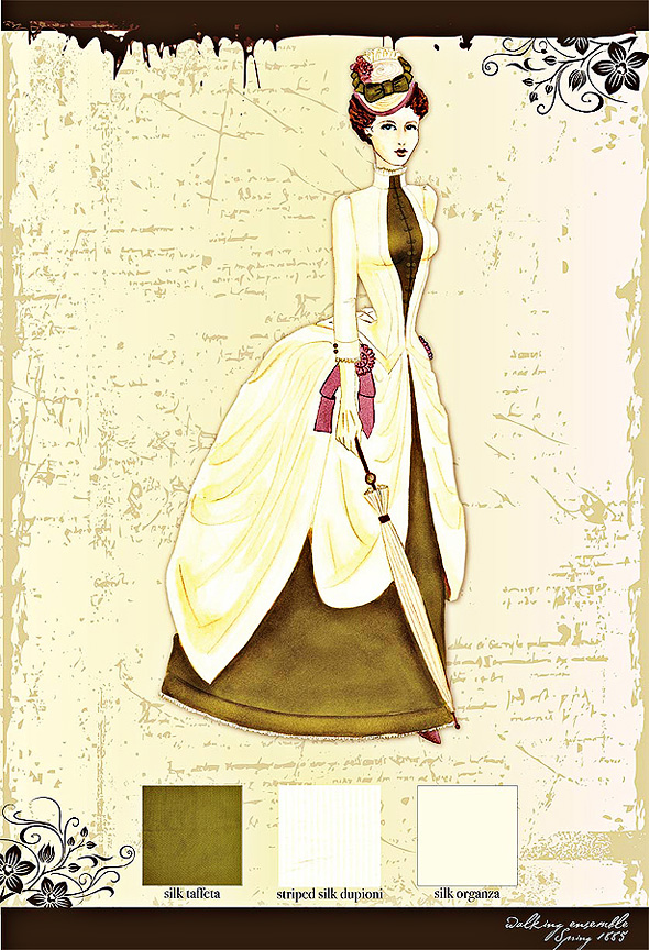 1885 walking suit