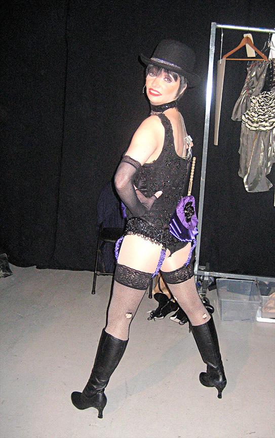 Liza Backstage