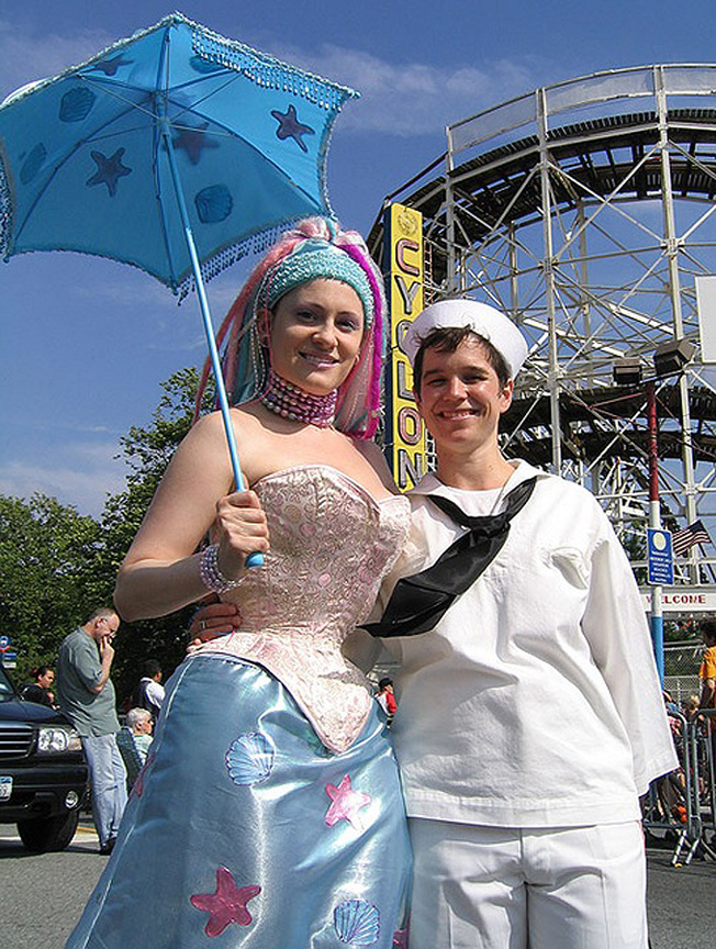 coney island mermaid