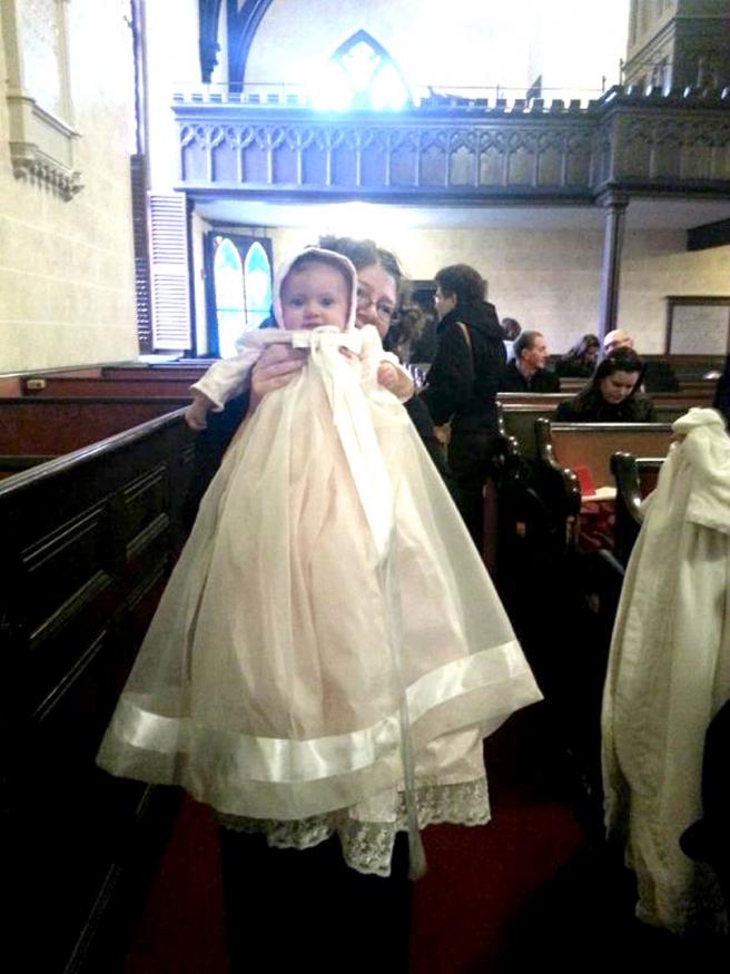 church christening