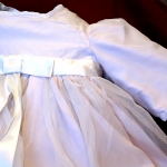 christening gown bodice