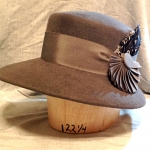 profile view of hat