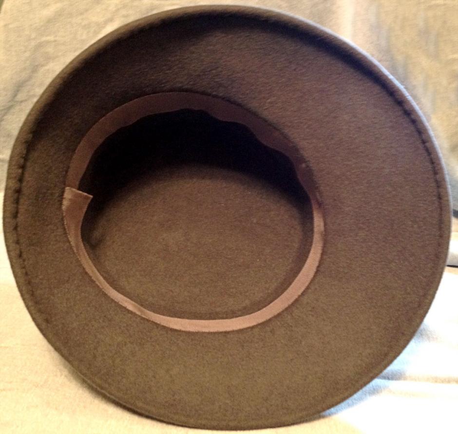 Inside of hat